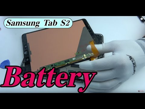 Samsung Tab S2 battery replacement
