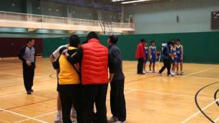 元朗學界籃球賽 - 鐘聲學校黃金入球