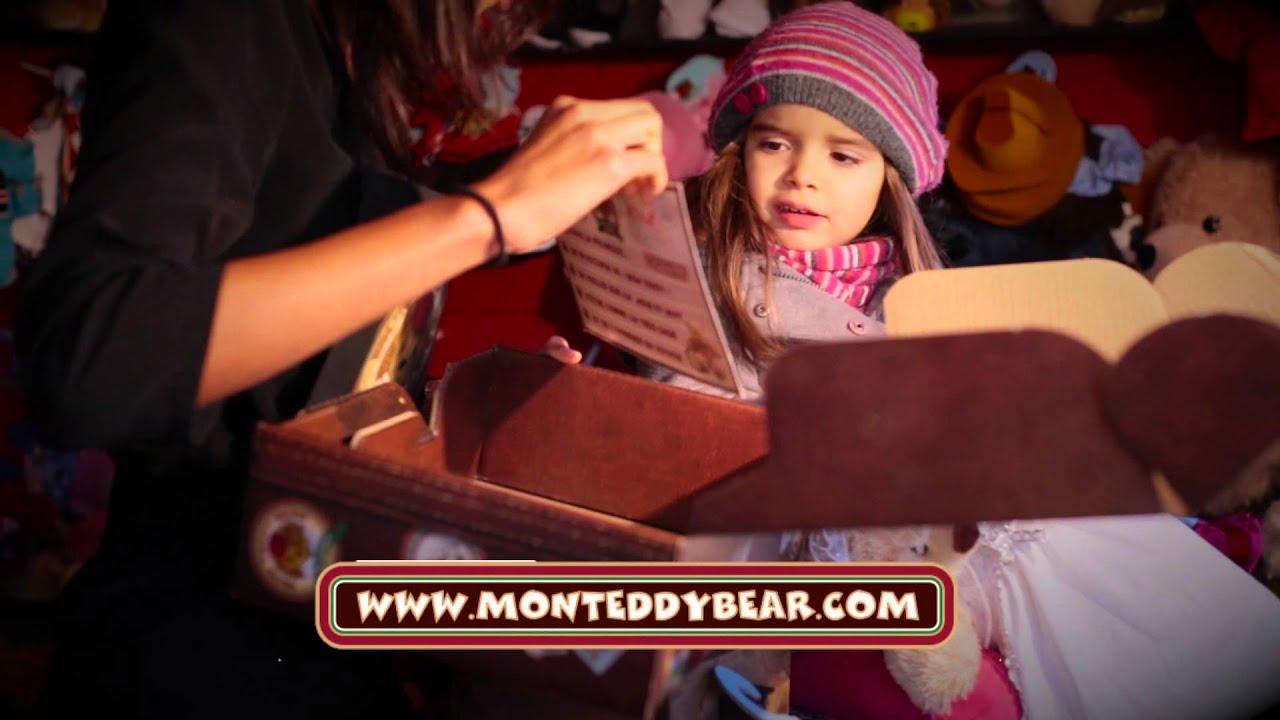 Mon Teddy Bear - Peluches Pesonnalisées - Atelier à Nounours - YouTube