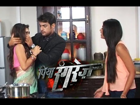 Aaradhya & Sher's Watermelon Fight | Piya Rangrezz | 25th April 2016 Episode | On Location Shoot