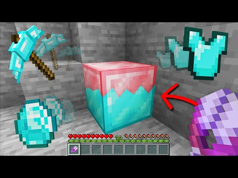 Minecraft, But You Can Shear Any Block...