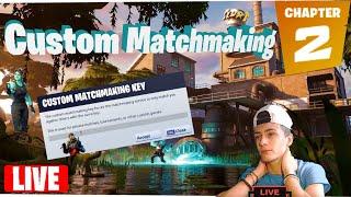 🔴 (EU) Fortnite Custom Matchmaking // Solo/Duo/Squad // Fortnite Battle Royale Chapter 2