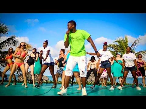Julien Believe teaches Breezes Bahamas the Caribbean Slide