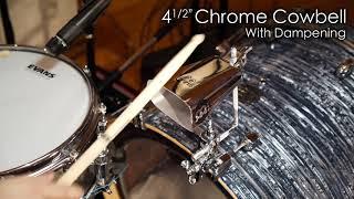 "MEINL Percussion - 4½"" Chrome Cowbell - STB45L-CH"