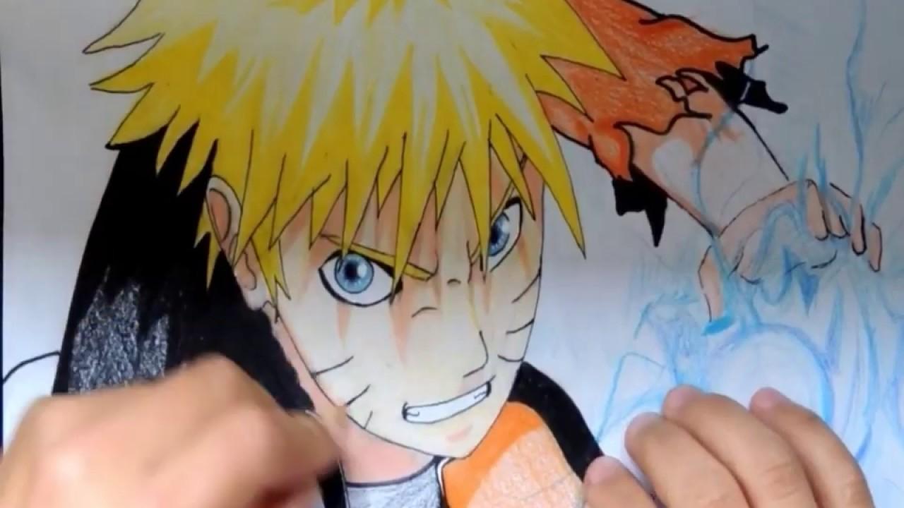 Desenho- Naruto Rasengan