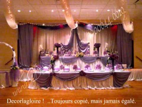 Decoration de mariage Arielle et Pierre Salama Mbuyi à montreal ...