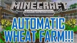 How To Make Automatic Wheat Farm In Mcpe 0.15.2