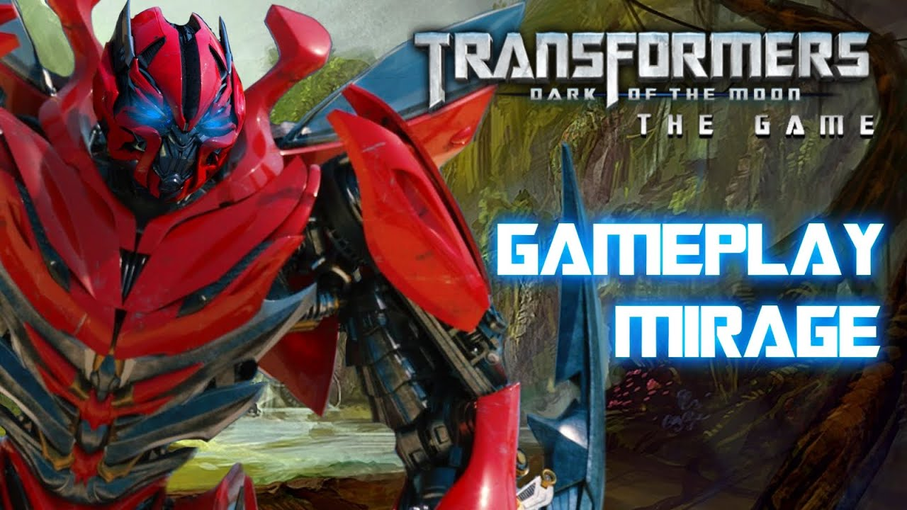 transformers dark of the moon gameplay mirage youtube