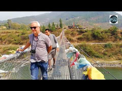 Trip to Bhutan: Punakha Suspension Bridge