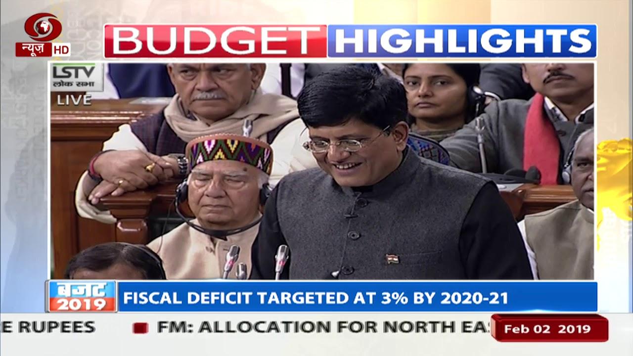 7806896e538c Budget Highlights: Interim budget of 27.84 lakh crore presented