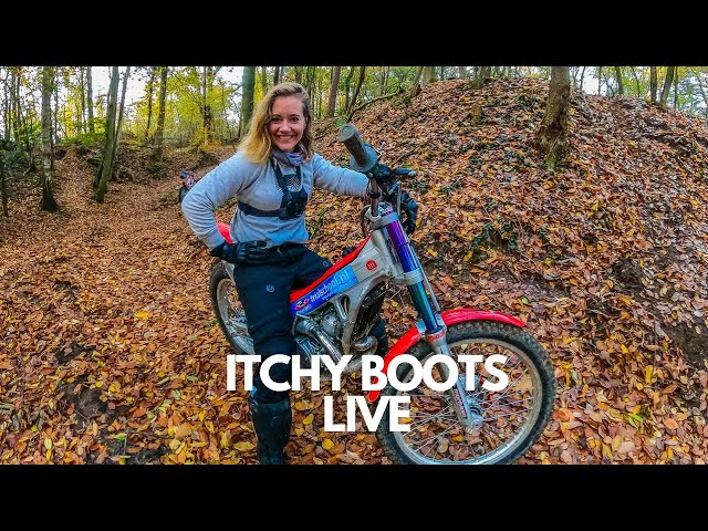 Itchy Boots LIVE - What is happening?!