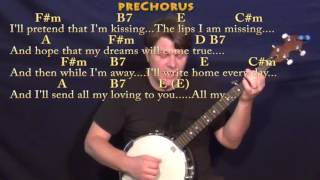 All My Loving (The Beatles) Banjo Cover Lesson with Chords/Lyrics