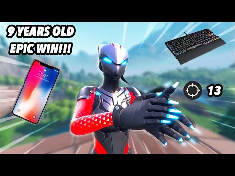 GETTING A 9 YEAR OLD MOBILE PLAYER HIS FIRST DUB!!! EASY LIT DUB!?!
