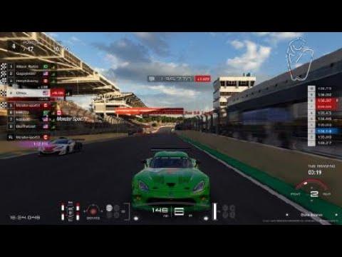 Gran Turismo®SPORT Brazil Viper GT3 || From the back