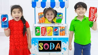 Colors Song (Soda) | Kids Sing-Along to Fun Nursery Rhymes Song Learning Colors