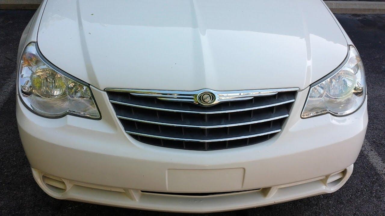Chrysler Sebring Headlight Change Easy Same For Many Years