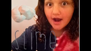How to make fluffy slime and a new recipe!!!