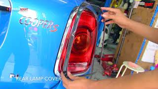 MINI COOPER COUNTRY MAN F60 INSTALL EXTERIOR AND INTERIOR ACCESSORIES COVER