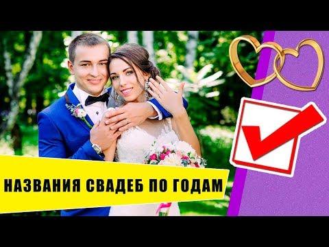 Названия свадеб по