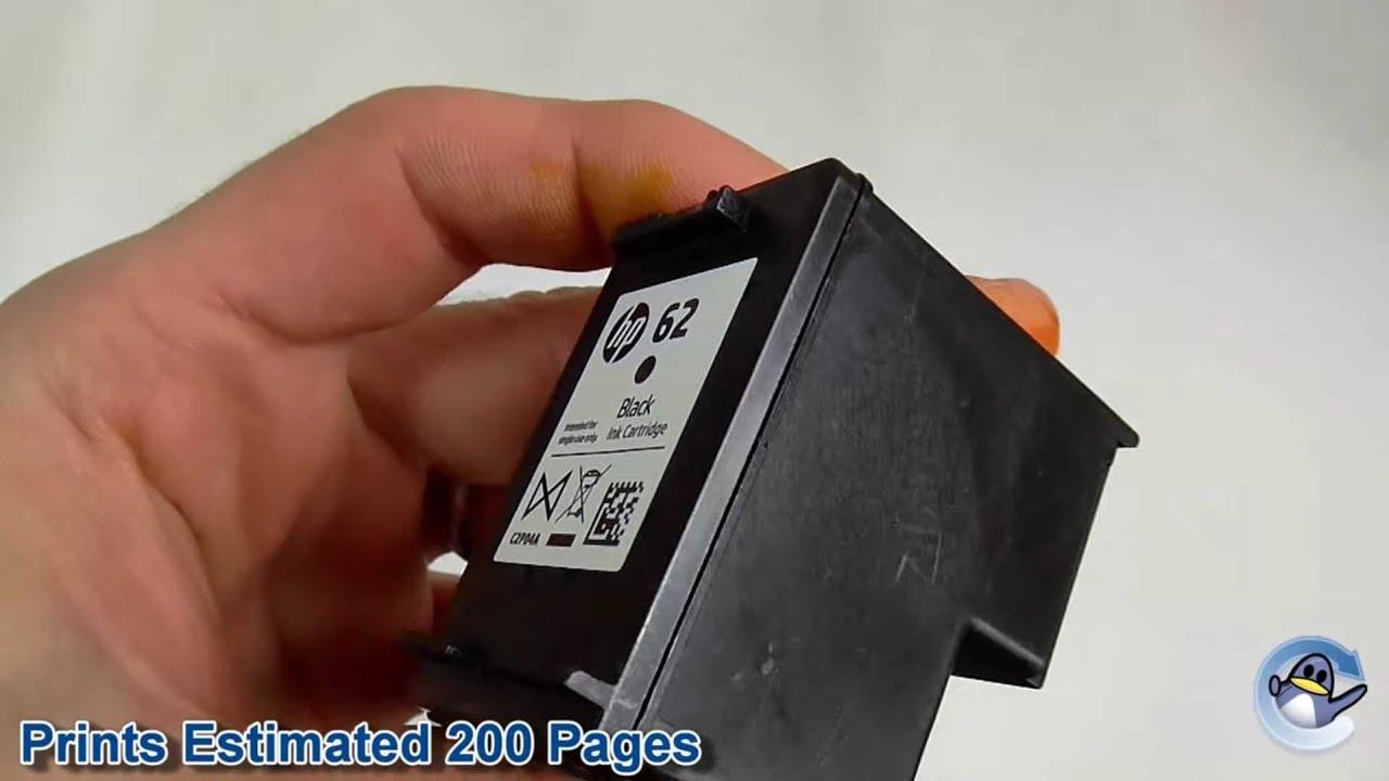 Inside Hp 62 Black Ink Cartridge C2p04ae