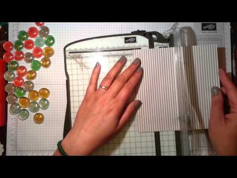 -{Mini Fridge Magnets}- aRTful Stampin tutorial