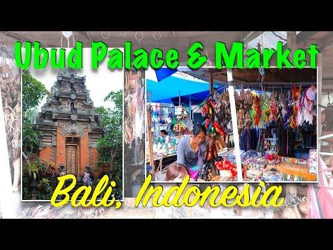 Ubud Traditional Art Market | Ubud Palace | Bali Indonesia