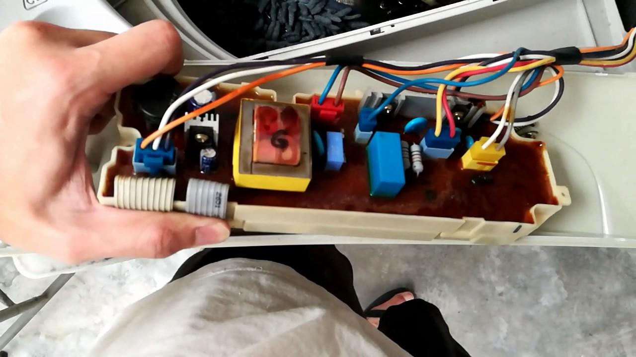 LG WF-F712PC Washing Machine lid switch bypass