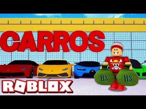 CONSTRUINDO MINHA LOJA DE SUPER CARROS no ROBLOX → Car Dealership Tycoon 2019 🎮