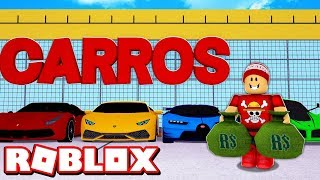 BUILDING MY SUPER CARS SHOP at ROBLOX → Car Dealership Tycoon 2019 🎮