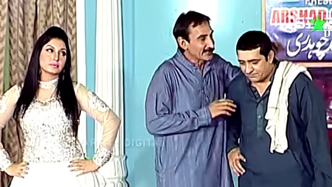 Best Of Iftikhar Thakur and Zafri Khan New Pakistani Stage Drama Full Comedy Funny Clip | Pk Mast