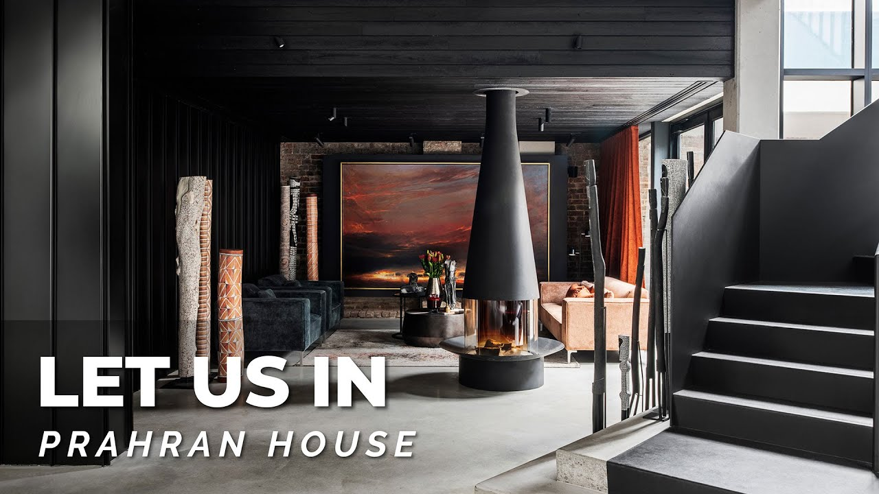 An Art Collector's Luxury Home Tour! 🙌 You Won't Believe This Architectural Warehouse Conversion!