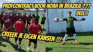 Profcontract voor Noah Zeeuw in Brazilië? Deel1 'Creëer je eigen kansen'