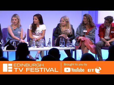 Derry Girls Masterclass With Lisa Mcgee, Cast & Creatives   Edinburgh TV Festival 2018