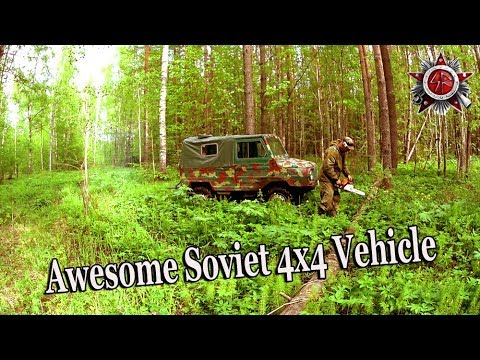 Off Road Trip In 1985 Soviet Made 4X4 Vehicle 2019 ЛуАЗ 969М