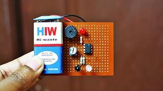 How to Make an IR Proximity Sensor | Touchless Door Bell