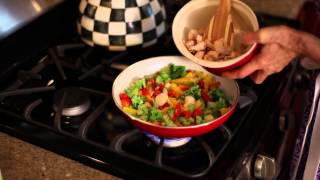 Orange Cashew Chicken Stir-fry Recipe : Healthy & Yummy Recipes