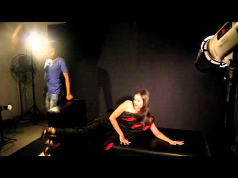 BD Model Airin Awesum Magazine FI-Fashion Industry Shoot On Set.MOV
