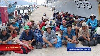 Ngư dân Việt bị Indonesia bắt giữ kêu cứu (VOA)
