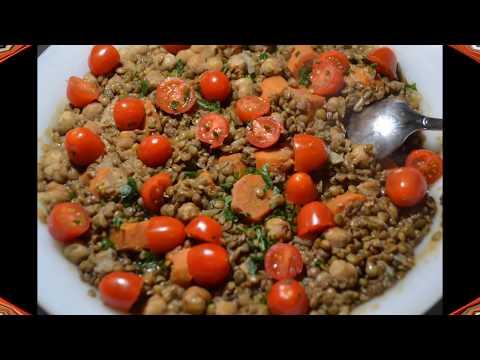 salade-lentilles-pois-chiches-recette-au-cookeo