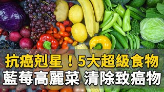 抗癌剋星!5大超級食物  藍莓高麗菜清除致癌物 何永成 醫師 337 中醫知識CooL