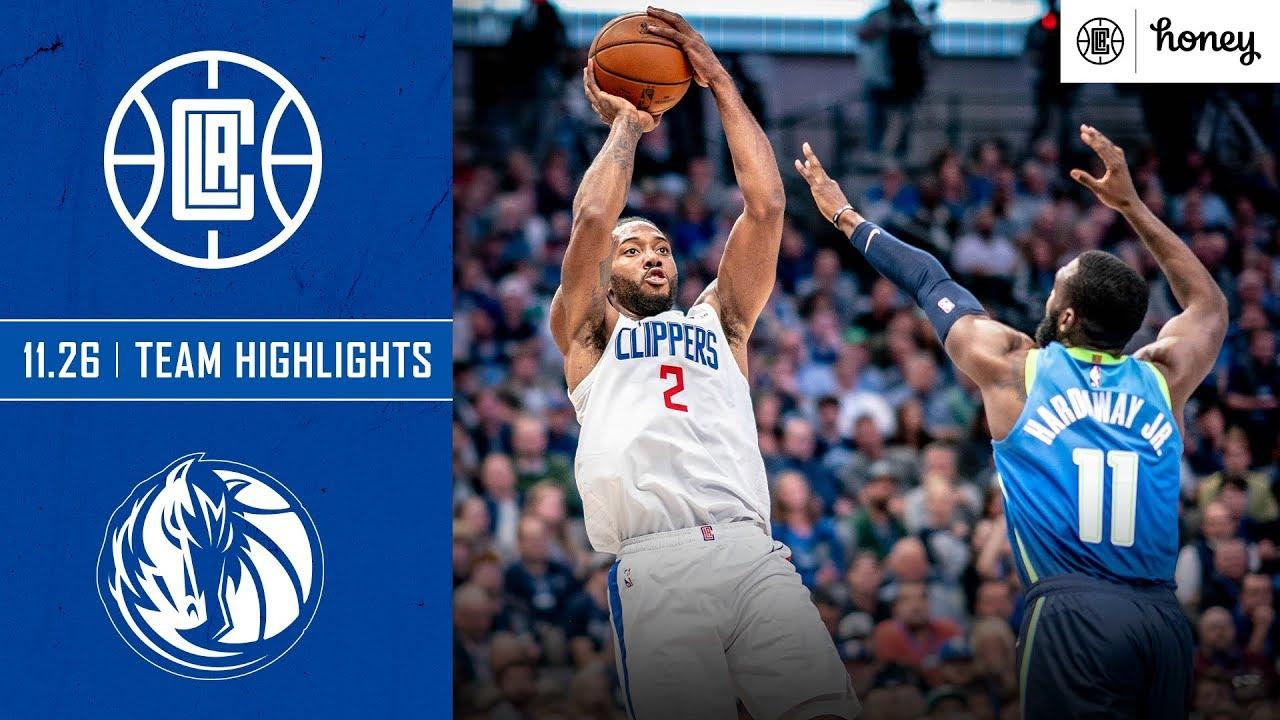 Clippers Defense Shines In Win Vs Mavericks Honey Highlights