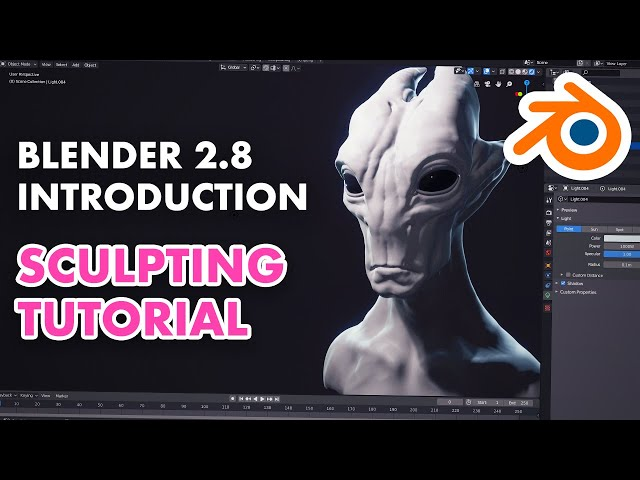 Introduction to Sculpting in Blender 2.8 - Sculpting Essentials