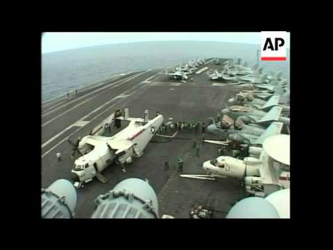 USS Lincoln, crashed plane moved, Banda Aceh