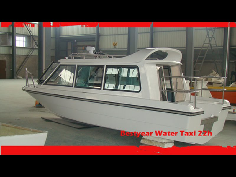 For sale bestyear watertaxi 22h boat small cabin boat for Best small cabin boats