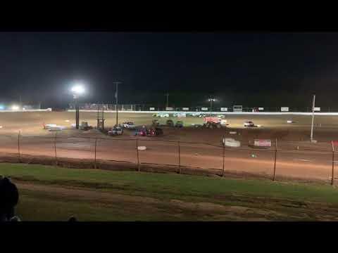 CJ Kinneer 99 Heat race win at Midway Speedway 9-14-19