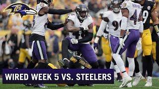 Wired: Ravens Take Down Steelers in Emotional Week 5 Victory   Baltimore Ravens