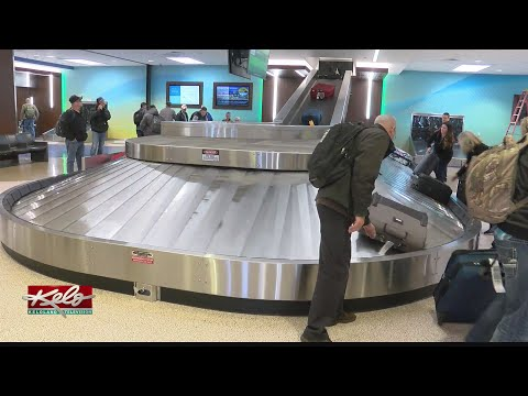 Holiday Travel Rush Underway At Sioux Falls Regional Airport