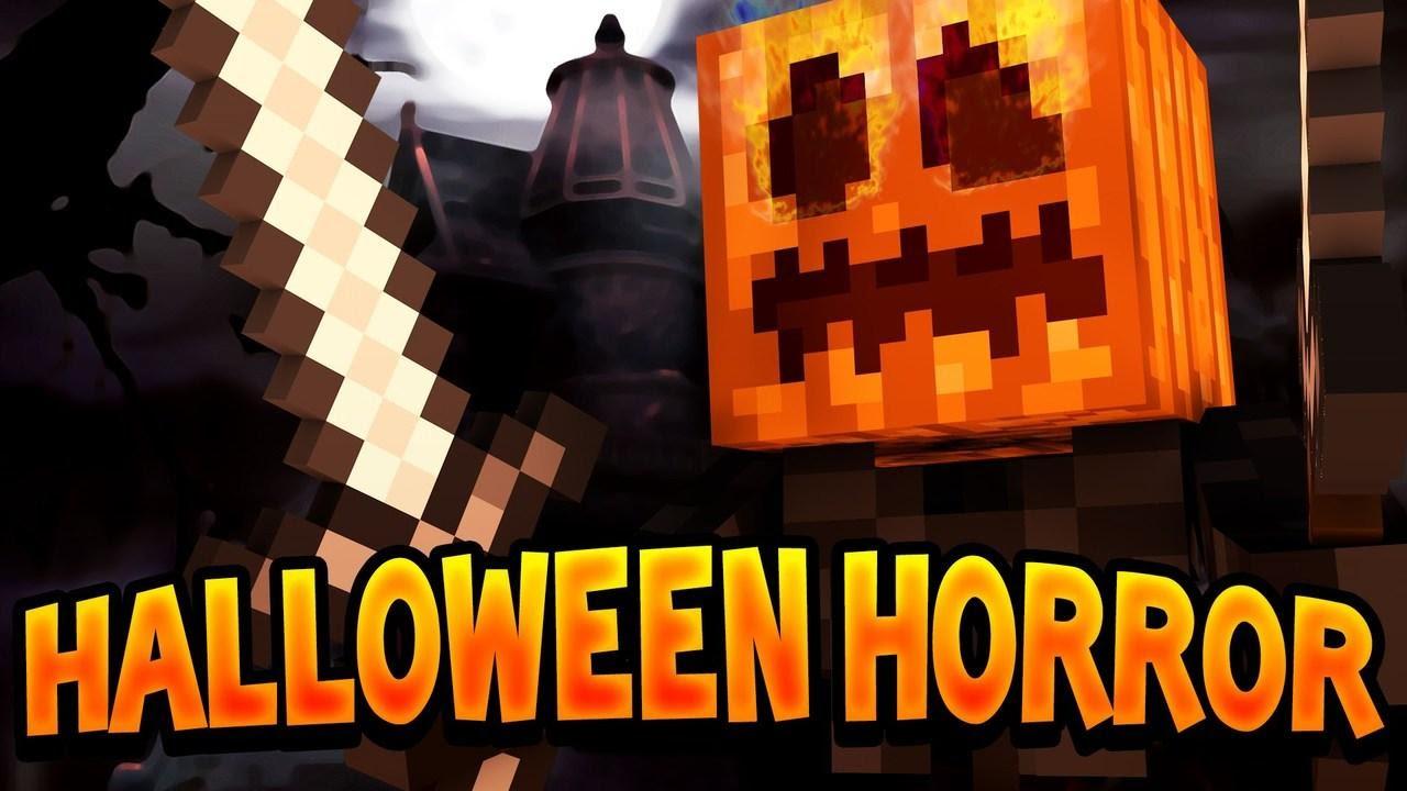 minecraft: halloween horror [1] - youtube