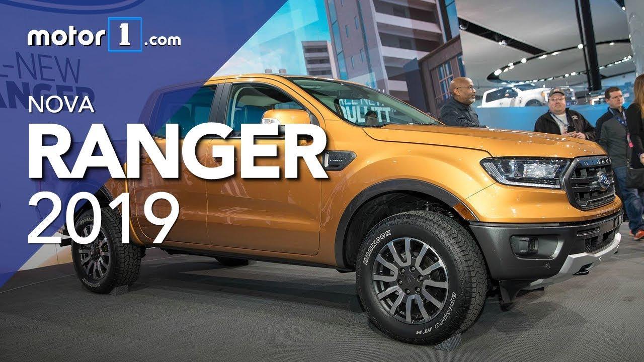 Nova Ford Ranger 2019 Salao De Detroit Youtube