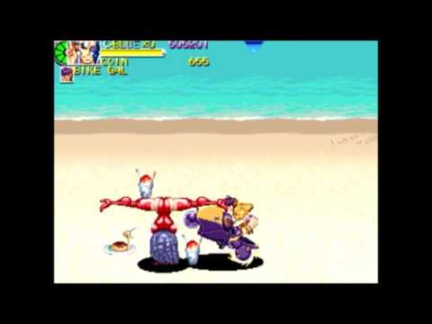 Battle Circuit  Blue Cyber Playthrough (Arcade/Capcom/1997)